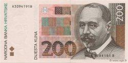 200 Kuna CROATIE  1993 P.33a NEUF