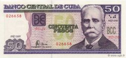 50 Pesos CUBA  2002 P.121A NEUF
