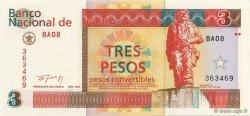 3 Pesos Convertibles CUBA  1994 P.FX38 NEUF