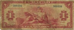 1 Gulden CURACAO  1942 P.35a B à TB