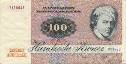 100 Kroner DANEMARK  1987 P.051f pr.SUP
