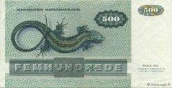 500 Kroner DANEMARK  1988 P.052d SUP