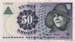 50 Kroner DANEMARK  2000 P.055b SPL