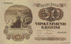 50 Krooni ESTONIE  1929 P.65a pr.SPL