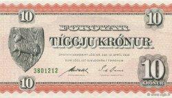 10 Kroner ÎLES FEROE  1954 P.14b NEUF