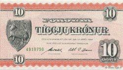 10 Kroner ÎLES FEROE  1954 P.14c SUP