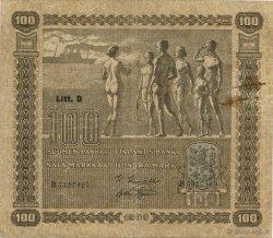 100 Markkaa FINLANDE  1939 P.073 TB+