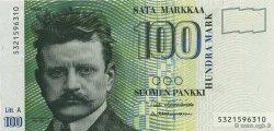 100 Markkaa FINLANDE  1991 P.119 NEUF