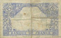 5 Francs BLEU FRANCE  1916 F.02.44 TB+