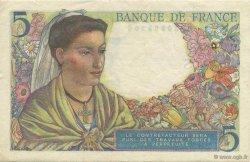 5 Francs BERGER FRANCE  1945 F.05.06 pr.SUP