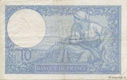 10 Francs MINERVE modifié FRANCE  1940 F.07.17 TTB+