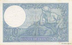 10 Francs MINERVE modifié FRANCE  1940 F.07.21 pr.SUP