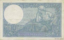 10 Francs MINERVE modifié FRANCE  1940 F.07.21 TTB+