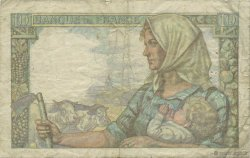 10 Francs MINEUR FRANCE  1945 F.08.13 TB