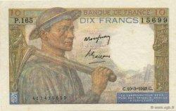 10 Francs MINEUR FRANCE  1949 F.08.20 SUP+