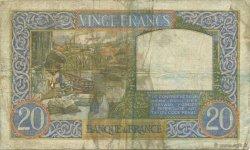 20 Francs SCIENCE ET TRAVAIL FRANCE  1941 F.12.15 TB