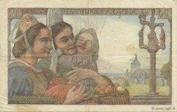 20 Francs PÊCHEUR FRANCE  1949 F.13.14 TTB