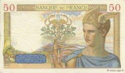 50 Francs CÉRÈS FRANCE  1936 F.17.24 SUP+