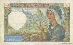 50 Francs JACQUES CŒUR FRANCE  1941 F.19.12 TTB