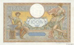 100 Francs LUC OLIVIER MERSON grands cartouches FRANCE  1929 F.24.08 TTB à SUP
