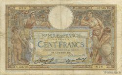 100 Francs LUC OLIVIER MERSON grands cartouches FRANCE  1937 F.24.16 B