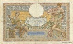 100 Francs LUC OLIVIER MERSON type modifié FRANCE  1937 F.25.04 pr.TTB