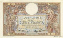 100 Francs LUC OLIVIER MERSON type modifié FRANCE  1939 F.25.40 SUP+