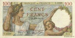 100 Francs SULLY FRANCE  1940 F.26.29 TTB+