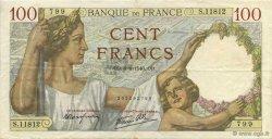 100 Francs SULLY FRANCE  1940 F.26.31 TTB