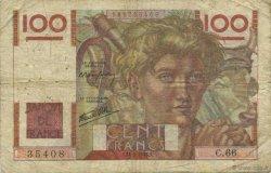 100 Francs JEUNE PAYSAN FRANCE  1946 F.28.05 B