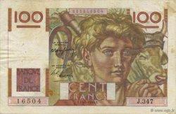 100 Francs JEUNE PAYSAN FRANCE  1949 F.28.24 TB+