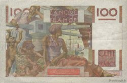 100 Francs JEUNE PAYSAN FRANCE  1951 F.28.29 TTB