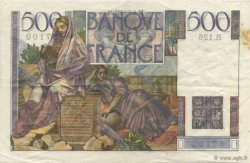 500 Francs CHATEAUBRIAND FRANCE  1952 F.34.10 pr.SUP
