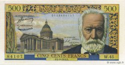 500 Francs VICTOR HUGO FRANCE  1954 F.35.03 pr.SUP