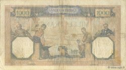 1000 Francs CÉRÈS ET MERCURE type modifié FRANCE  1939 F.38.33 pr.TTB