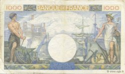 1000 Francs COMMERCE ET INDUSTRIE  FRANCE  1940 F.39.02 TTB