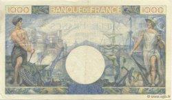 1000 Francs COMMERCE ET INDUSTRIE FRANCE  1941 F.39.04 pr.SUP