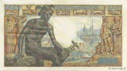 1000 Francs DÉESSE DÉMÉTER FRANCE  1942 F.40.08 TTB