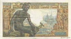 1000 Francs DÉESSE DÉMÉTER FRANCE  1942 F.40.10 TTB+