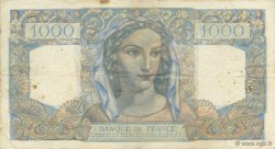 1000 Francs MINERVE ET HERCULE FRANCE  1946 F.41.17 TTB