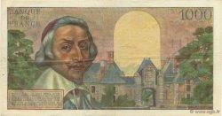 1000 Francs RICHELIEU FRANCE  1955 F.42.14 TTB+