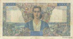 5000 Francs EMPIRE FRANÇAIS FRANCE  1945 F.47.48 pr.TTB