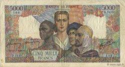 5000 Francs EMPIRE FRANÇAIS FRANCE  1946 F.47.53 TB+