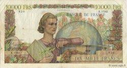 10000 Francs GÉNIE FRANÇAIS FRANCE  1951 F.50.53 pr.TTB