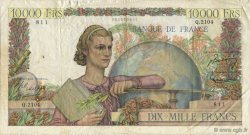 10000 Francs GÉNIE FRANÇAIS FRANCE  1951 F.50.55 TB