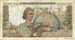 10000 Francs GÉNIE FRANÇAIS FRANCE  1952 F.50.57