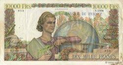 10000 Francs GÉNIE FRANÇAIS FRANCE  1952 F.50.57 TB+