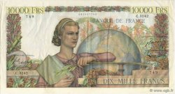 10000 Francs GÉNIE FRANÇAIS FRANCE  1952 F.50.60