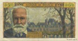 5 Nouveaux Francs VICTOR HUGO FRANCE  1961 F.56.08 SUP+