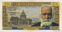 5 Nouveaux Francs VICTOR HUGO FRANCE  1964 F.56.16 pr.SUP